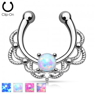 Fake Septum GLAMOUR Opal